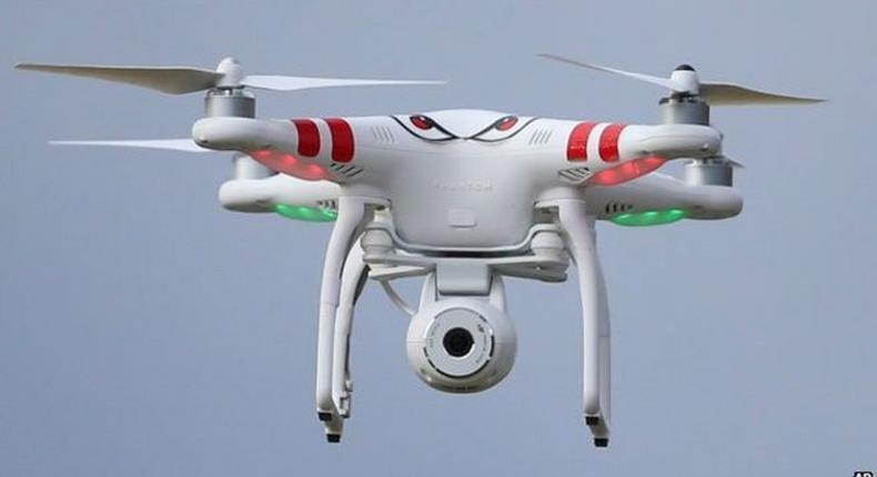 London police use drones in Airport