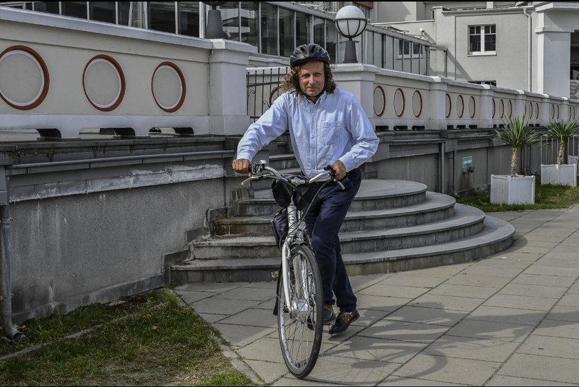 Prezydent Sopotu to zapalony cyklista.