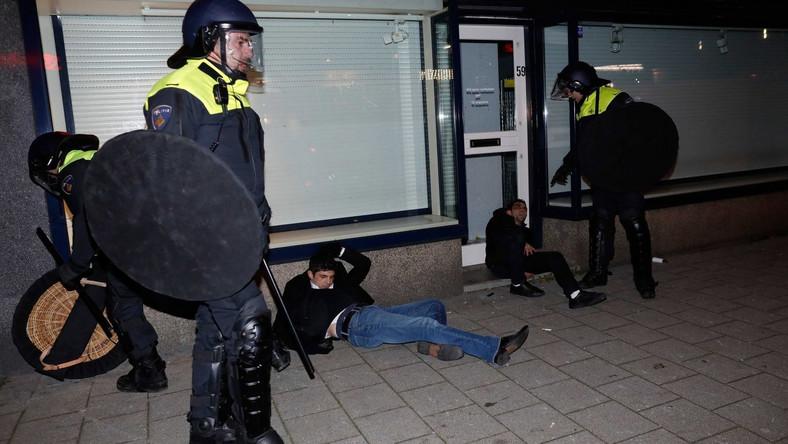Policja w Rotterdamie