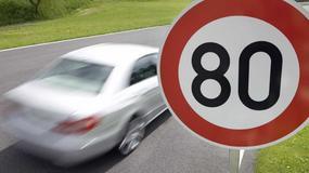 Ograniczą prędkość do 80 km/h