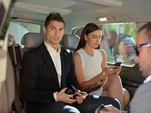 Irina i Ronaldo iz vremena velike ljubavi