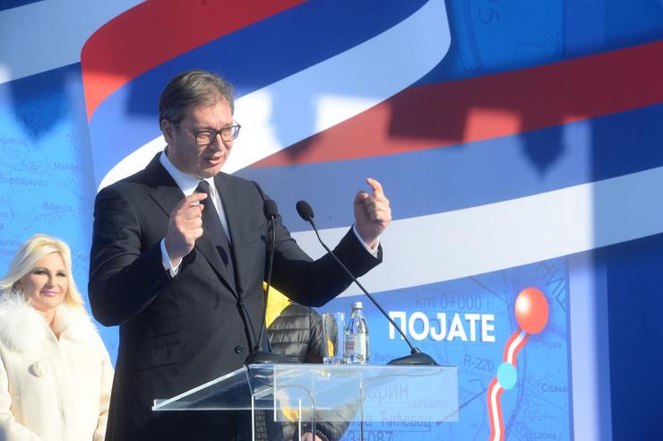 Aleksandar Vučić autoput Moravski koridor