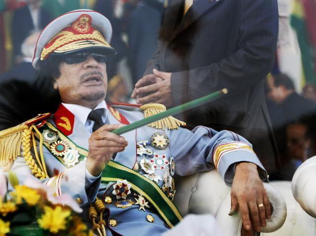 Finansirao Sarkozija:Muamer el Gadafi