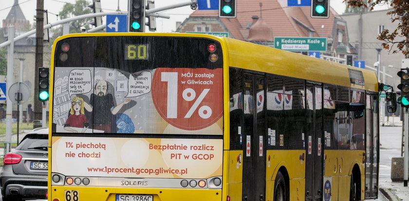 Autobusy w Gliwicach jadą na zielonym