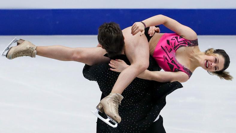 Natalia Kaliszek i Maksym Spodyriev
