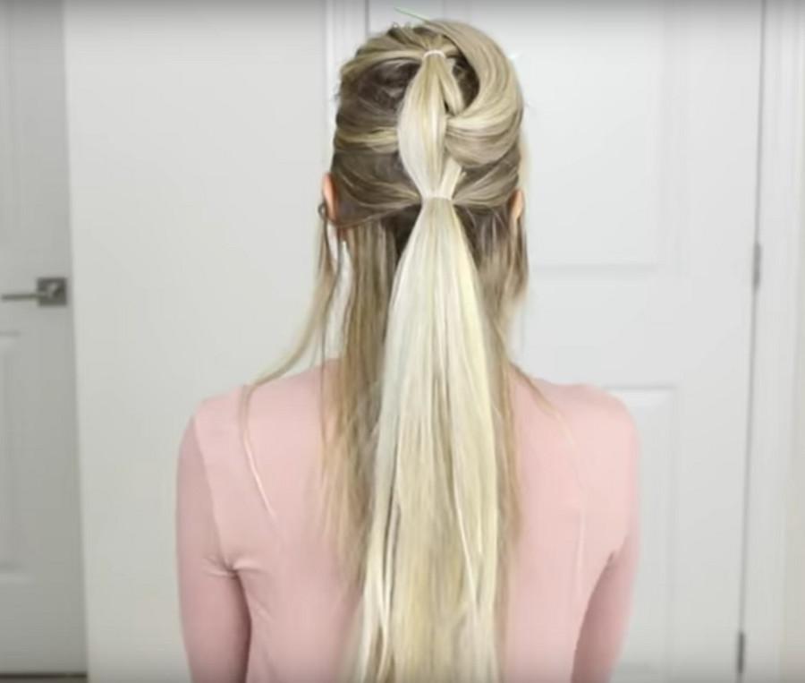 Romantyczny Warkocz Który Optycznie Zwiększa Ilość Włosów