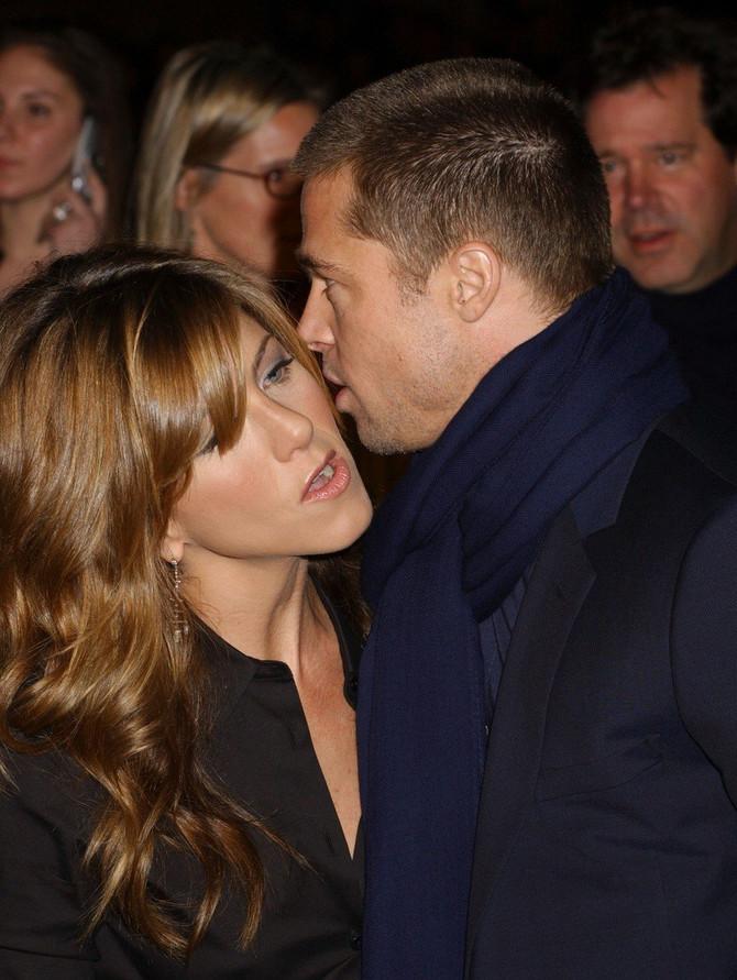 Dženifer Aniston i Bred Pit iz vremena ljubavi