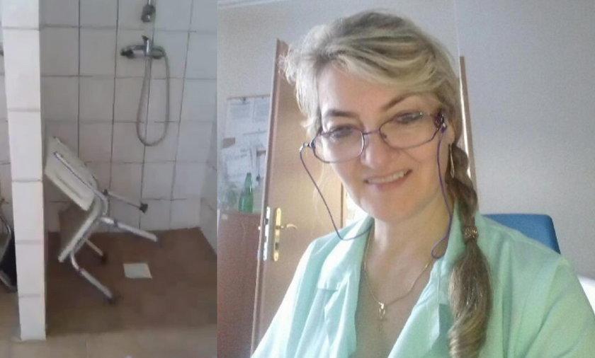 Pielęgniarka Renata Kozioł musi mierzyć się z urągającymi warunkami pracy w DPS-ie w Wierzbicy