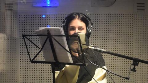 """Snimak koji javnost nije videla! Ovako je Anastasija u studiju snimala novi hit """"Rane""""!"""