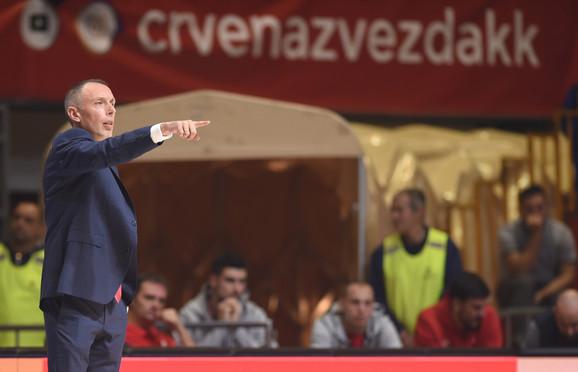 Trener crveno-belih Milan Tomić