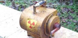 Alarm! Zaginął radioaktywny pojemnik