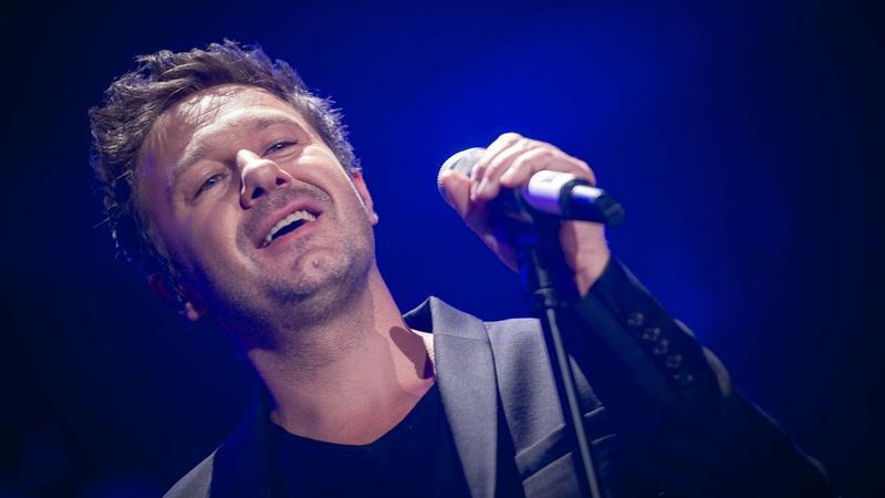 Andrzej Piaseczny na Top Music Wembley
