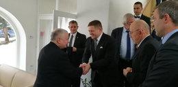 Jarosław Kaczyński na Słowacji! Co tam robił?