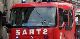 Pożar w Kutnie