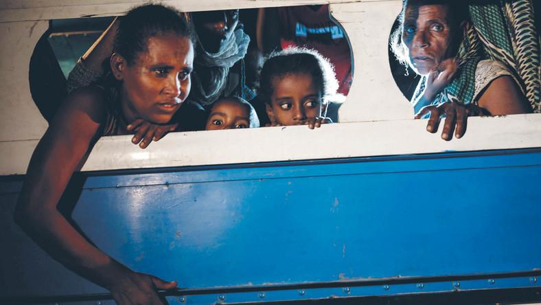 Część uchodźców z Tigraju próbuje przedostać się do Sudanu