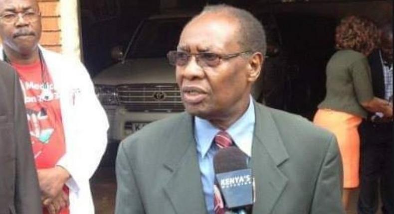 Former Nyaribari Masaba MP Dr. Hezron Manduku is dead