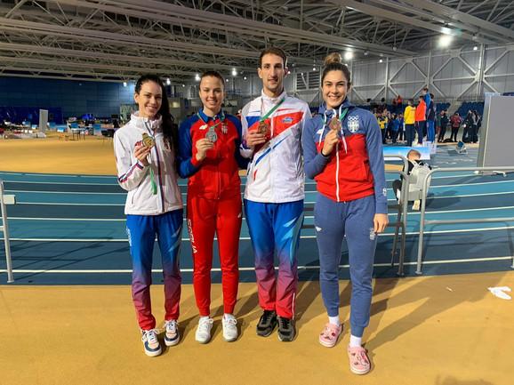 Tijana Bogdanović, Nadica Božanić, Budimir Krivokuća i Milica Mandić
