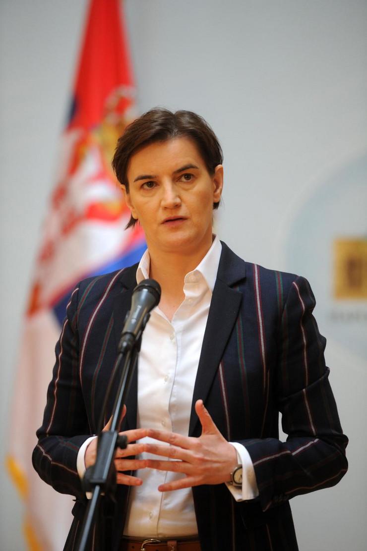 Skupština Srbije, Sednica Nacionalnog konventa o Evropskoj uniji, Ana Brnabić