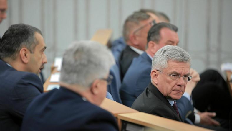 Wicemarszałek Senatu Stanisław Karczewski
