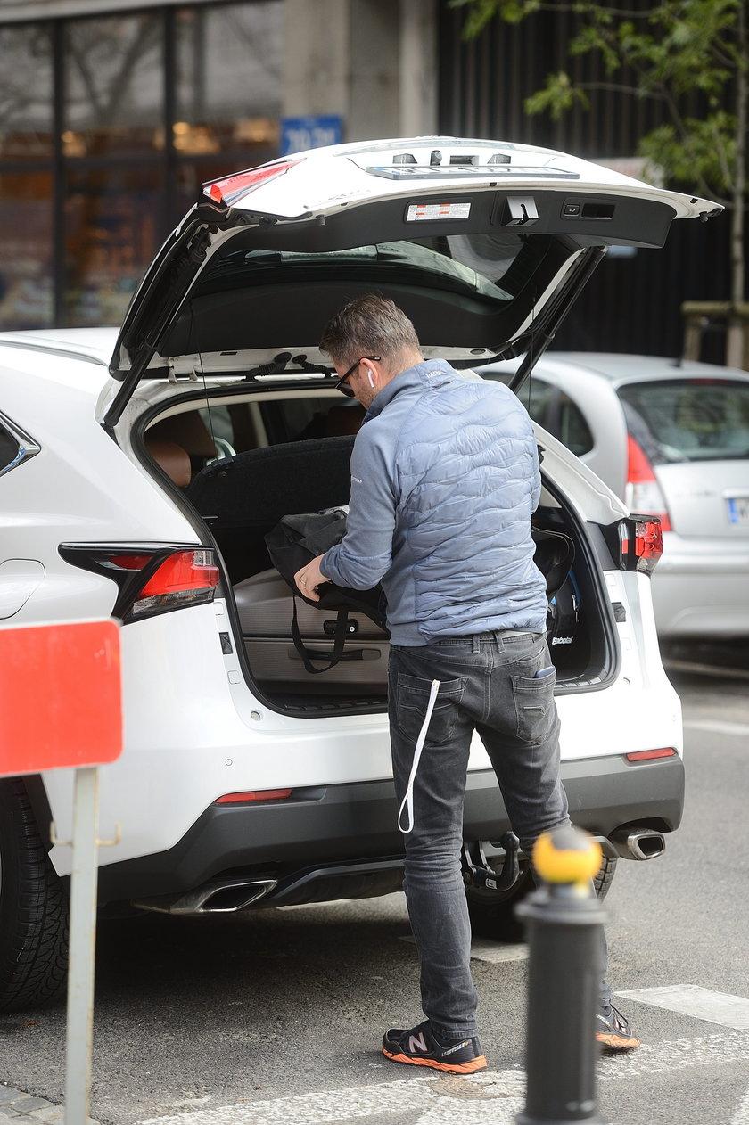 Gwiazdy, którym skradziono samochody: Jarosław Kuźniar