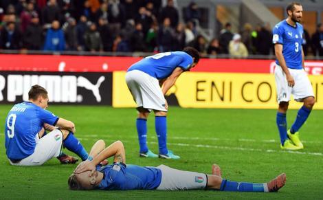 Očaj među fudbalerima Italije
