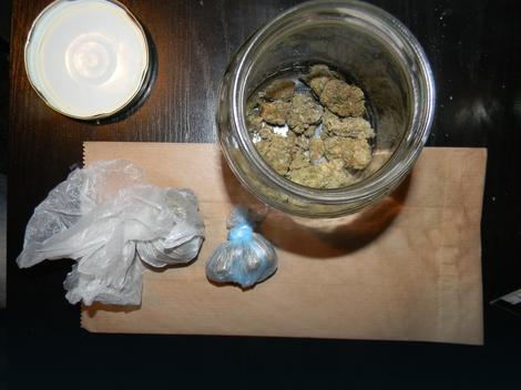 Marihuana koja je zaplenjena u iznajmljenom stanu