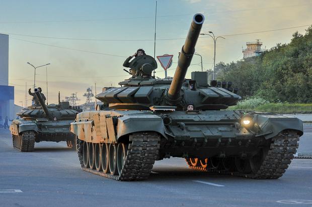 Czołgi T-72B3 to stara konstrukcja, która przeszła jednak głęboką modernizację