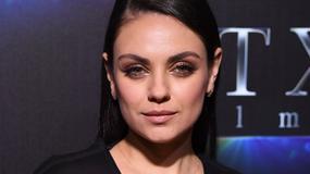 Mila Kunis pokazała się bez makijażu. Jest nie do poznania