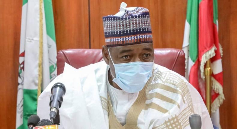 Governor Babagana Zulum of Borno state. [Twitter/@GovBorno]]