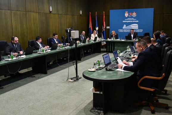 Sa današnje sednice Pokrajinske vlade
