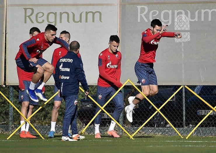 Trening FK Crvena zvezda