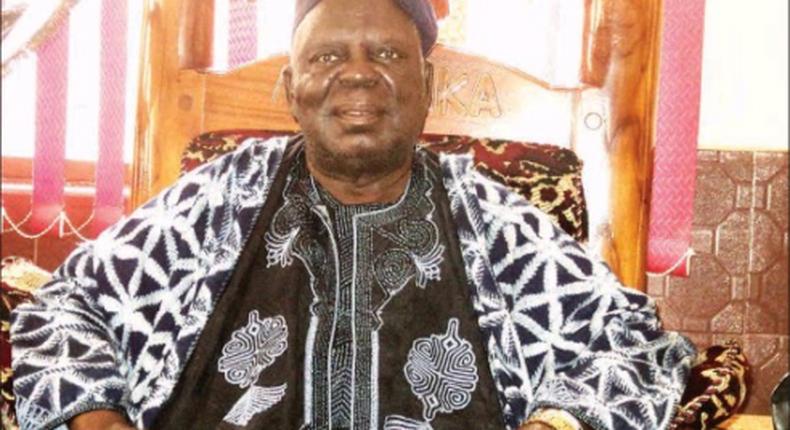 Dr Shekarau Angyu Masa Ibi Kuvyon II the late Aku Uka of Wukari. (Daily Trust)