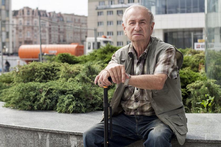 Zdzisław Utratny ( 74 l.), emeryt, były pracownik elektrowni.
