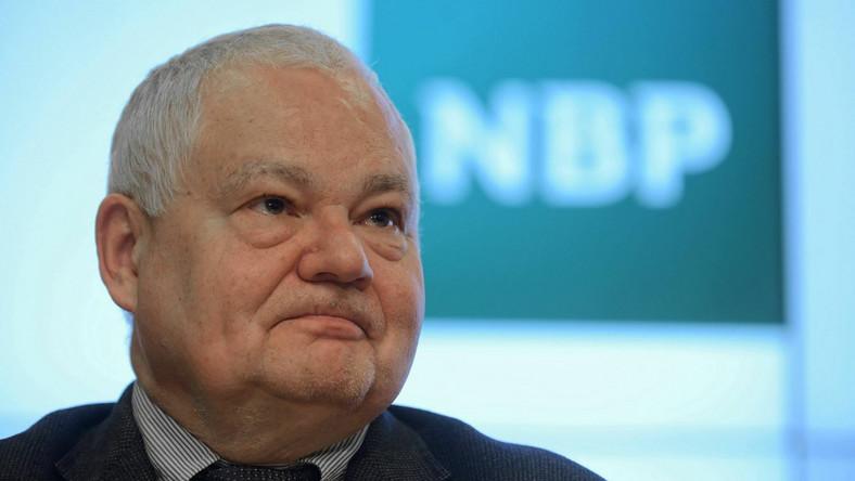 Prezes Narodowego Banku Polskiego prof. Adam Glapiński