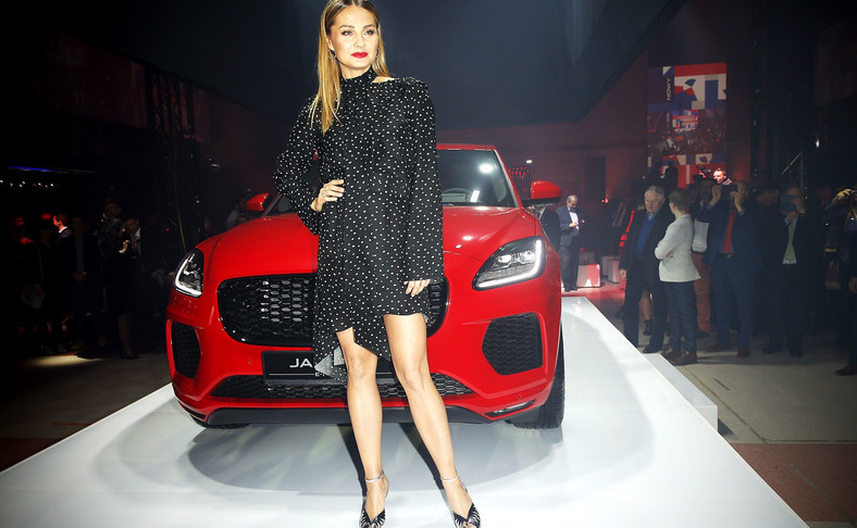 Małgorzata Socha, aktorka znana m.in. z seriali stacji TVN, TVP1 i Polsat, została ambasadorką nowego Jaguara E-Pace