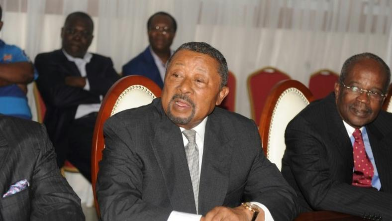 Gabonese opposition leader Jean Ping, seen in September 2016, has styled himself as president-elect since losing the August election by less than 6,000 votes