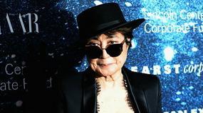 Yoko Ono stworzyła ludzki znak pokoju na urodziny Johna Lennona
