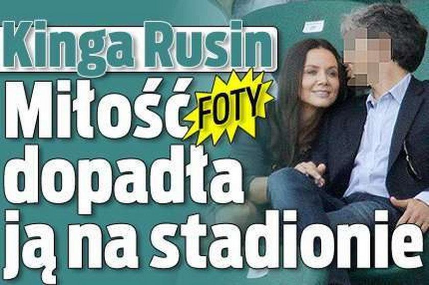 Kinga Rusin. Miłość dopadła ją na stadionie