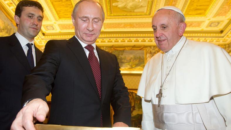 10 czerwca papież Franciszek przyjmie Władimira Putina