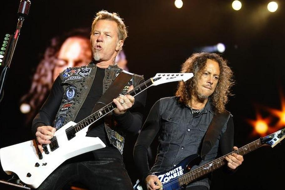 Metallica: James Hetfield i Kirk Hammett