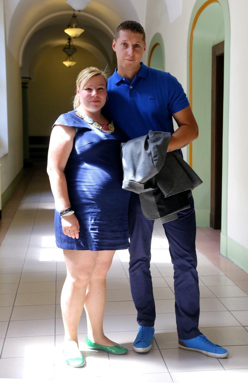 Pani Liwia z mężem