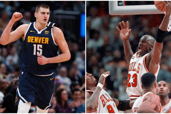 SRBIN ISPISUJE NBA ISTORIJU Nikola Jokić uradio ono što nije viđeno još od ere Majkla Džordana