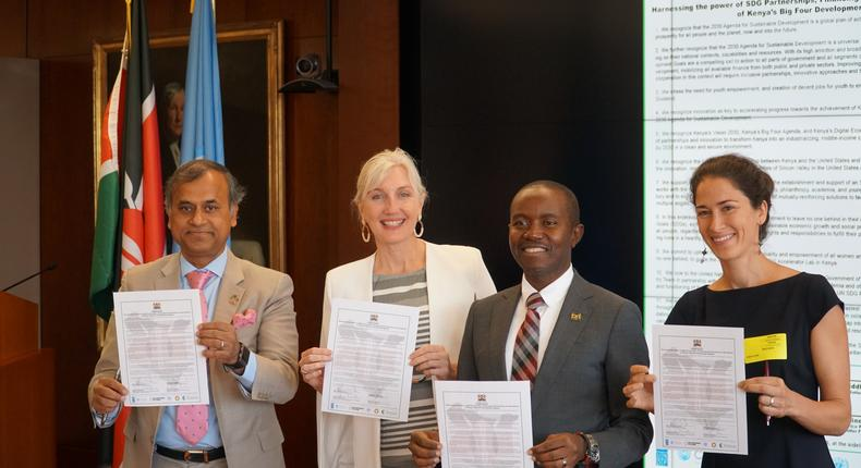 The Government of Kenya has signed a Communique with the Center for Effective Global Action (CEGA) at the University of California, Berkeley, along with The Rockefeller Foundation, and the United Nations to inspire future action and support for the delivery of Kenya's Big Four agenda.