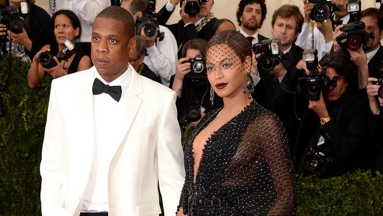 Jay Z i Beyoncé na gali MET w Nowym Jorku