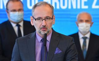 Niedzielski: Należy spodziewać się kontynuacji trendu tysiąca przypadków koronawirusa