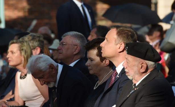 Polowa msza święta na pl. Krasińskich w Warszawie.