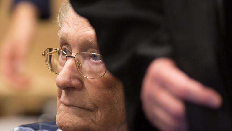 Oskar Groening, strażnik z obozu Auschwitz-Birkenau