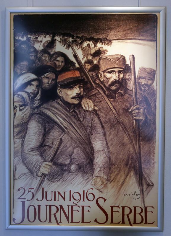 Teofil Štajnlen, Dva vojnika