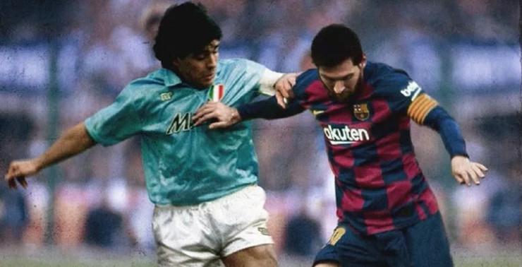 Dijego Maradona, Lionel Mesi