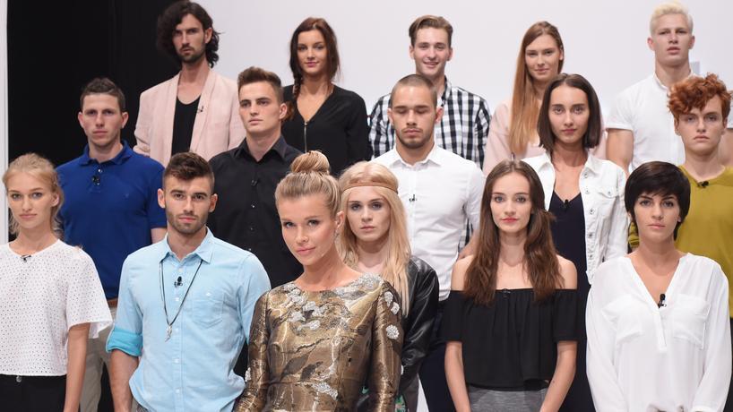 "Joanna Krupa i uczestnicy ""Top Model 6"""
